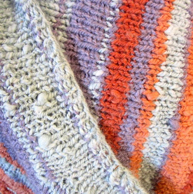 Hand Knit Naturally Dyed Alpaca Infinity Scarf. Free Shipping.